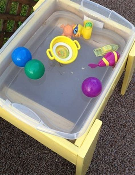 Diy Sensory Table For Toddlers